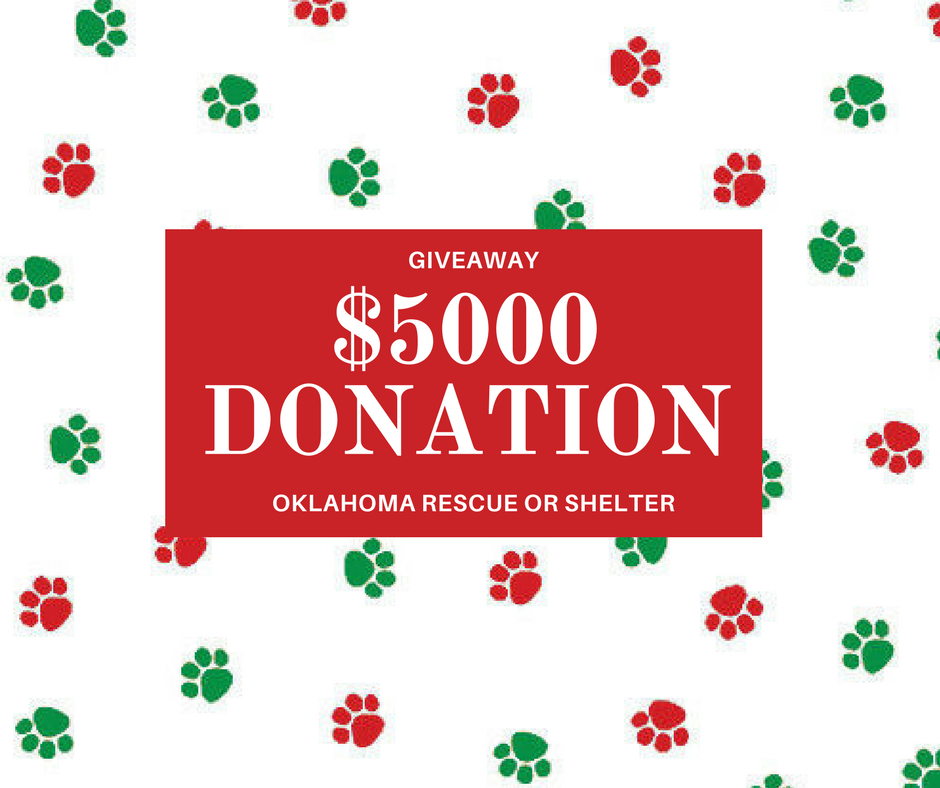 $5000shelter or rescue donation