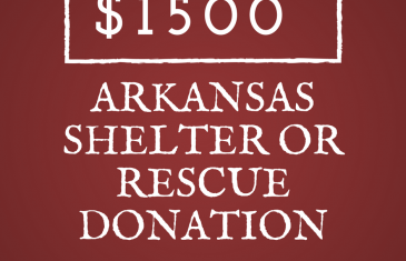$1500 Arkansas Rescue or Shelter Contest
